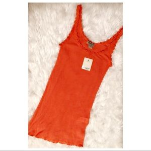 Lucky Brand Orange Camisole, XS, NEW with tags